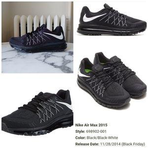 Nike Air Max Triple black/white 2015